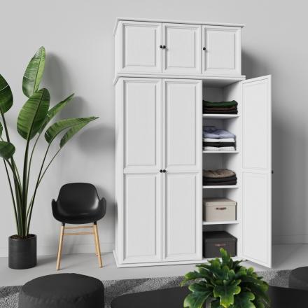 Półka do szafy białej - 5