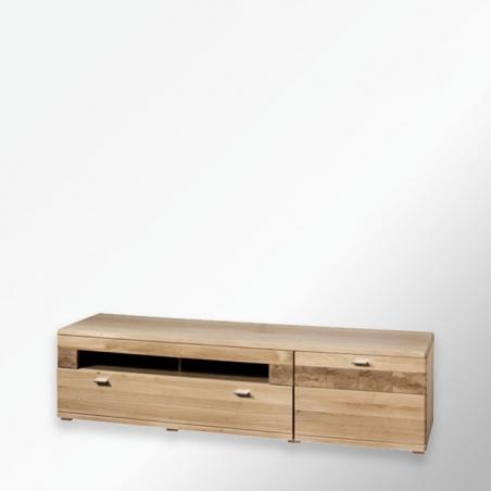 Dębowa szafka RTV - Meble