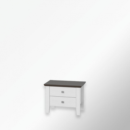 Biała komoda - Mistral