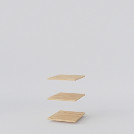 półka do szafy sosnowa - Szafy Drewniane